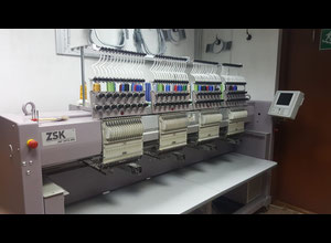 ZSK JAF0415 – 400 Embroidery machine