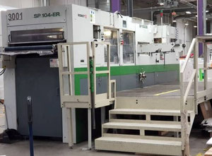 Bobst SP 104 ER Carton converting machine