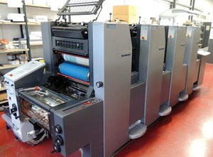 HEIDELBERG SPEEDMASTER SM52-4+ Offset four colours