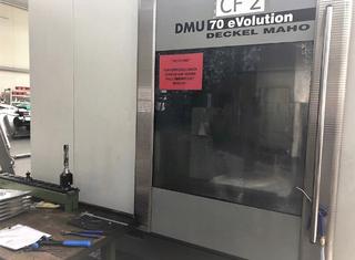 DMG DMU 70 evo P91108137