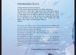 Young Nam Machines Korea Surimi P91110008