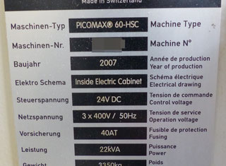 Fehlmann PICOMAX 60-HSC P91111050