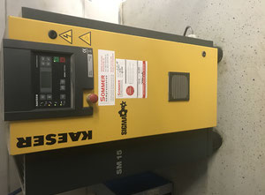 Käser SM15 Compressed air for the food industry