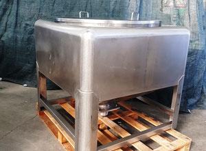 Tank für die Lagerung und den Transfer von Staub