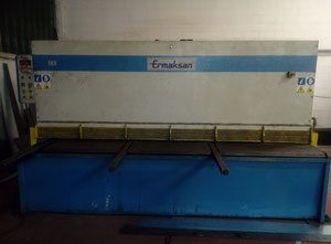 Used Ermaksan 3000x10 hydraulic shear
