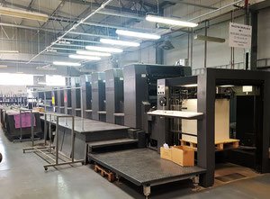 Offset cinco colores Heidelberg CD102-5 LYL UV