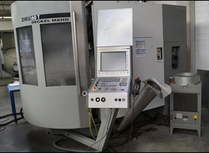 DMG DMU 60 T high speed machining center