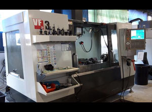 Haas VF 3 cnc vertical milling machine
