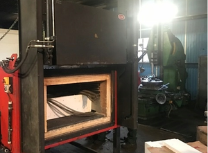 Horno industrial PK 680 hardening furnace