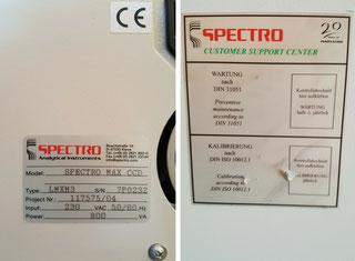 Spectro Analytical SPECTRO MAX CCD P91128160