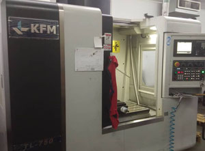 KFM TL 750 cnc vertical milling machine