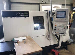 CNC Lathe - Inclined Bed Type  DMG GILDEMEISTER CTX 310 eco