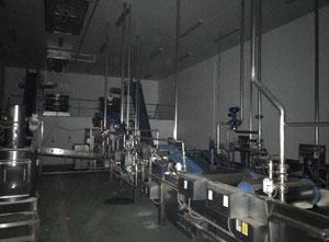 Maquinaria de Procesado de Hortalizas frescas y limpias, troceadas y envasadas para su consumo.