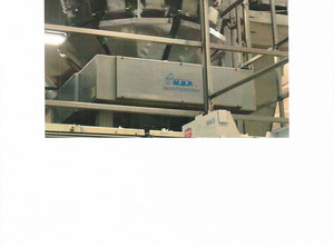 One Multihead Weigher ( Split/Dual for feeding of 2 VFFS baggers)