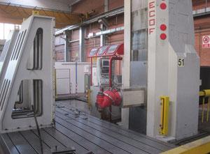 CNC zemin tipi borverk makinesi Mecof AGILE M3