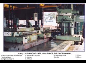WMW Heckert 5000mm Horizontal Floor Borer with DRO (Union)