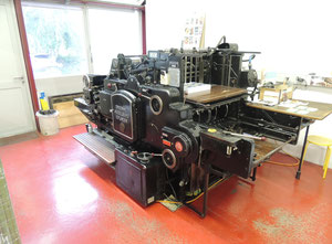 Heidelberg S Offset one colour