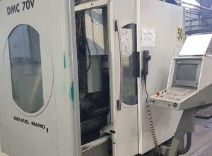 Used Vertical machining center DECKEL MAHO type DMC 70 V - CNC HEIDENHAIN