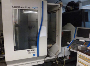 Mikron VCP 600 high speed machining center
