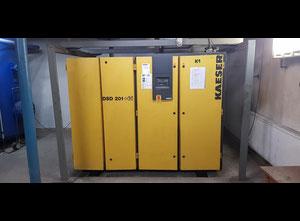 Compresor de tornillo lubricante Kaeser DSD 201