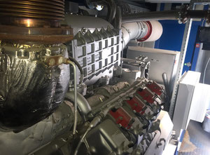 MTU 8V4000L33 Generator