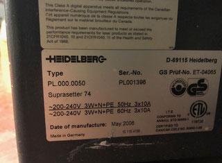Heidelberg Suprasetter 74 P91218016