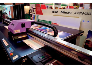 Etiket baskı makinesi United States JFX200-2513