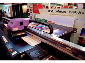 MIMAKI JFX200-2513 High-Performance Flatbed Printer