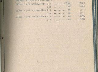 Kovosvit BPV 80 A 2 m P1 P91219022