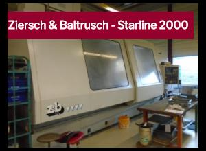 Ziersch & Baltrusch Starline 2000 CNC Flachschleifmaschine