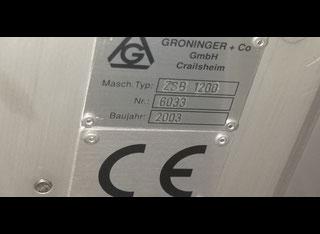 Groninger zsb 1200 unscrambler P91229010