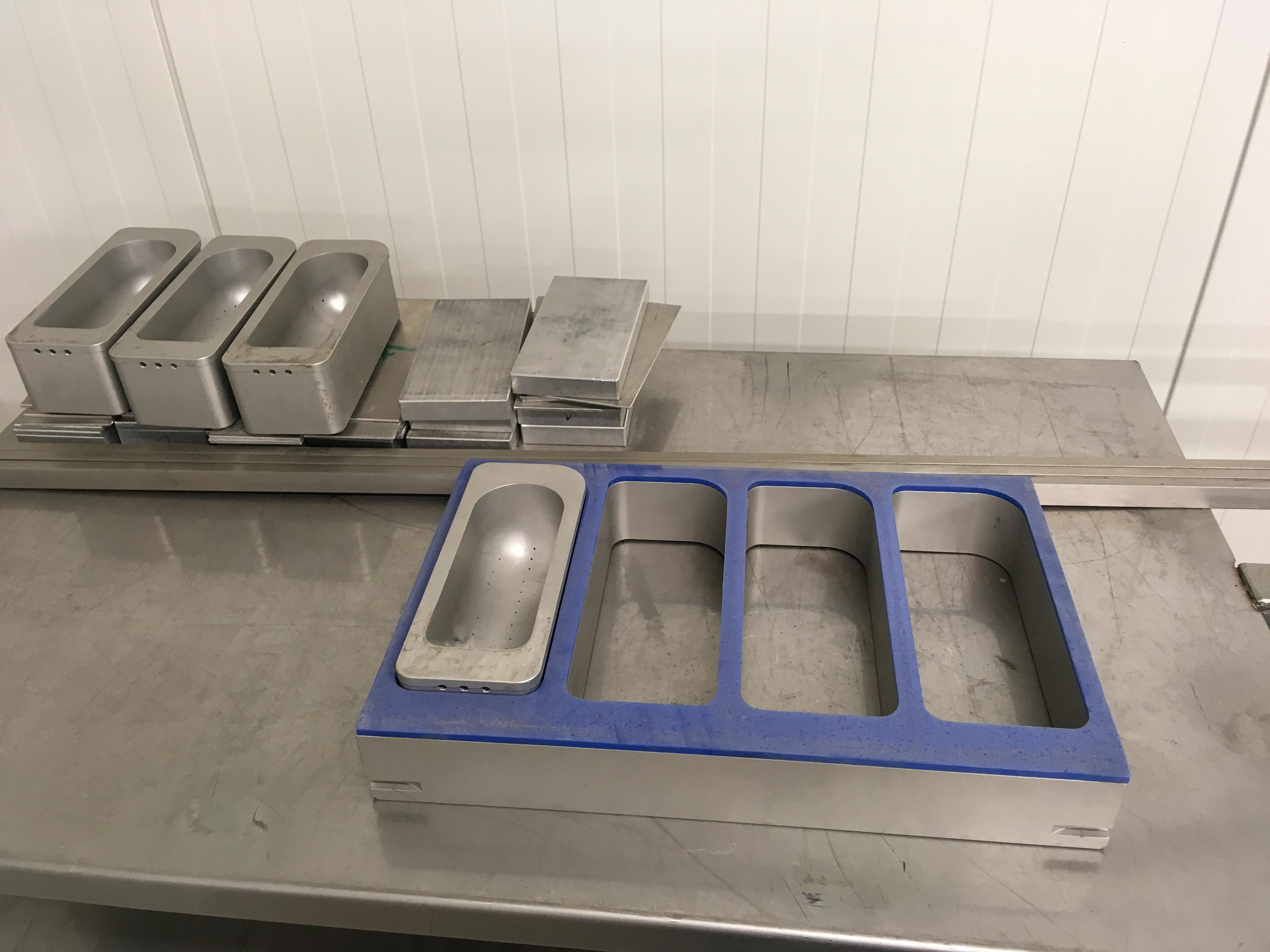 Diam/ètre de la base 58 mm Gesh Lot de 4 tubes de remplissage en acier pour saucisses