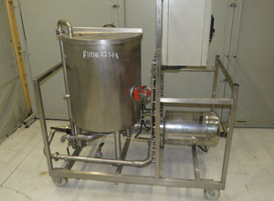 Stainless steel electric melter 200 L Tank