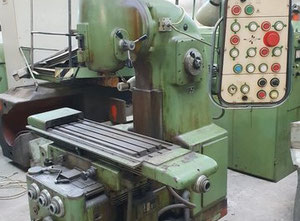 Tos Olomouc FB 25 V milling machine