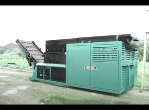 Movable diesel shredder 1700 mm. 230 Hp