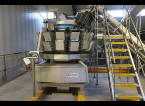Cabinplant 50-14 Multihead weigher