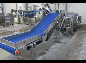 Turatti and Alges   baby leaf washing and drying line