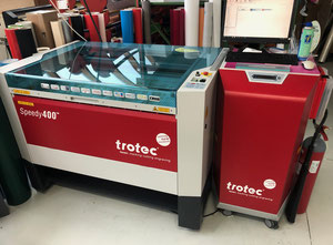 Trotec SPEEDY 400 Printing machine