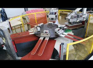 Rocky Rose - Macchina industriale pressa rotativa per applicazione strass su collant