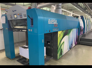 KBA Rapida 106-4+LV (CX) Offset four colours
