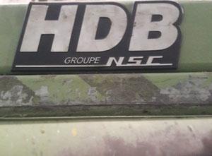 Używana zgrzeblarka, gręplarka HDB Nsc Schlumberger 1995
