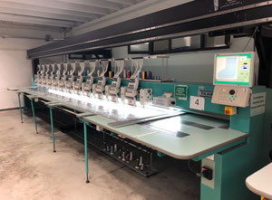 Tajima TCMX-60912 Embroidery machine
