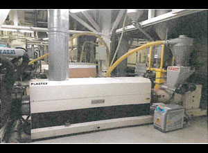 Single-layer extruder MACCHI 100 FROM 2002