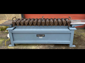Oliver 14 station heavy duty rollformer Fitted with 4 sets of tooling