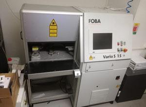 Impianto taglio laser Foba Vario S 15