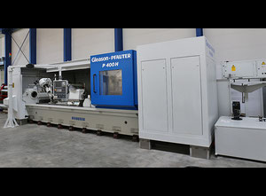 Gleason-Pfauter P 400 H Cnc gear hobbing machine