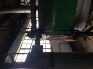 Stroj na pražení kávy Whitmee 100kg batch