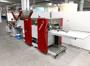 Petratto Cordoba BA creasing folding and glueing machine folding machine