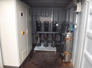 Máquina de limpieza y esterilización WEDECO UV BX30