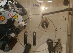 Abg vectra sgrt 330-4  glueless start turret rewind machine + turnbar , slitting label printing machine